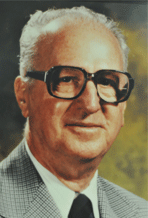 Dr. Ben Jones, College President from 1956-1973