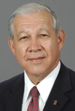 Dr. Richard Sanchez, College President from 1998-2013